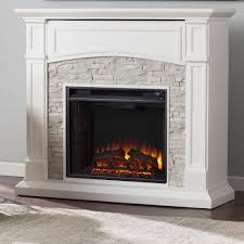 white faux stone electric fireplace tures page lovely wall marvellous sheldon media wildon home inch entertainment