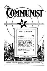 Red Scare And Labor Strikes Chart Answers The Communist Contents By Issue 1927 1944