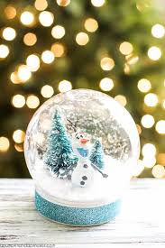 13 diy snowglobes that will get you excited for how to make snow globes