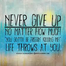 Never Give Up On Life Quotes Custom Karen Salmansohn Never Give Up Quote