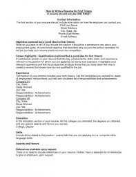 How Write Address On Resume Should Include Home Inspirational You