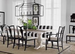 white and black dining room table. White And Black Dining Room Table Ethan Allen