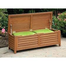 basic diy outdoor storage bench waterproof