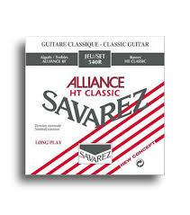 Savarez 540r Alliance Ht Classic Standard Tension Classical Guitar String Set Savarez Strings
