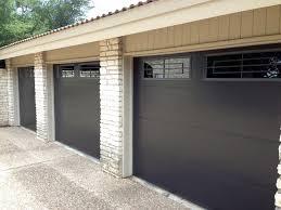 cowart door metal clad garage doors with windows modern