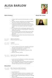 Waitress Hostess Resume Samples Visualcv Resume Samples Database