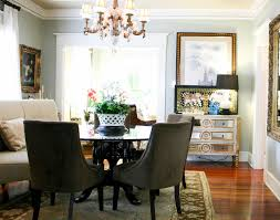 beautiful settee bench in dining room transitional with sherwin williams por gray next to silver strand sherwin williams alongside sherwin williams