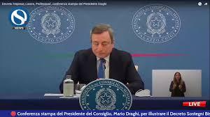 Orizzonte Scuola - Decreto Sostegni Bis: le misure per la scuola. Conferenza  stampa con Mario Draghi