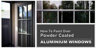 how to paint over powder coated
