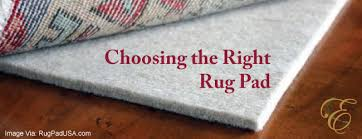 choose rug pad