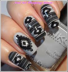 Nail Art Stamping Mania: Tribal Manicure With Cici&Sisi 33 Ethnic ...