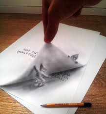 easy 3d paintings on paper easy 3d drawings on paper with pencil creative pencil 3d drawing