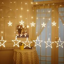 Curtain String Led Lights Led Star Curtain String Light Rowe Lighting Octopus Home Decor