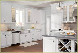Maple Kitchen Cabinets Painted White Home Design Ideas Painting