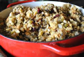 Turkey is particularly rich in the amino acid tryptophan which performs several functions in the body, including boosting serotonin; Wild Rice Cranberry And Pine Nut Stuffing Vegan One Green Planet