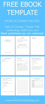 17 best ideas about word document recorder ebook template preformatted word document