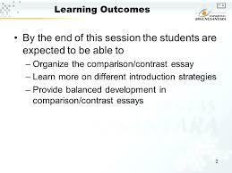 Example Comparison Contrast Essay Ctrast Shoulderbone Us