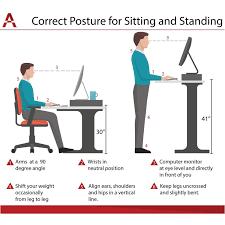 standing desk posture. Delighful Desk Myles LiftTop Standing Desk To Posture A