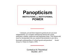 michel foucault panopticism essay college application essay michel foucault panopticism essay