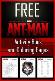 Small Picture FREE Ant Man Coloring Pages Activity Sheets Utah Sweet Savings