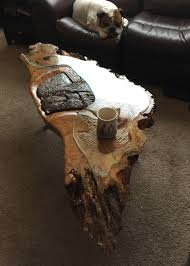Bear Coffee Table Fishing Bear Coffee Table Burl Dog Designs