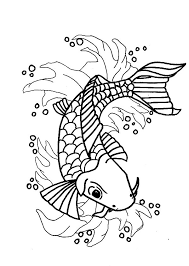 Small Picture Nishikigoi Koi Fish Coloring Pages Nishikigoi Koi Fish Coloring