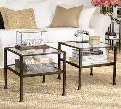 Pottery Barn Hyde Coffee Table About Table Wooden Cubes Side Tables Gallery With Pottery Barn