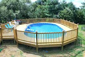 how to build a deck around an above ground pool pictures of above ground pool decks