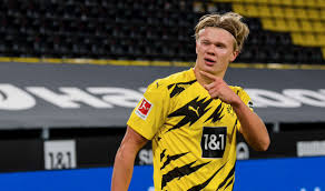 Born 21 july 2000) is a norwegian professional footballer who plays as a striker for bundesliga club borussia dortmund and the norway national team.a prolific goalscorer, haaland is recognised for his pace, athleticism and strength, earning him the nickname the terminator by many of his admirers.he is considered to be one of the best strikers. Borussia Dortmund On Twitter The Name S Haaland Erling Haaland