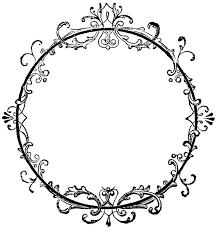 vintage frame design oval. Fancy Oval Frame Clip Art Free Clipart Images Vintage Design