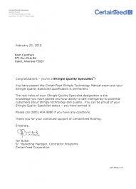 certification letter roof certification letter letters font brilliant ideas of