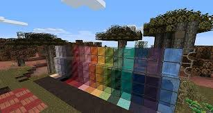 minecraft stained glass texture pack