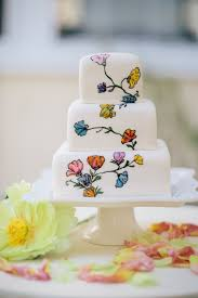 hand painted floral wedding cake masterpieces cake art