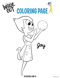 Small Picture Disneys Inside Out Coloring Pages Mommy Scene