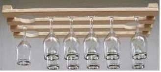 How to build Hanging Wine Glass Rack Plans PDF woodworking plans Hanging wine  glass rack plans Buy Laurel Highlands Woodshop 12 Glass Hanging Wine Glass  ...