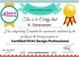 Certified Hvac Designer Hvac Training Institute In Chennai Hvac Course In Chennai