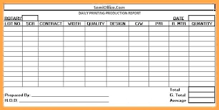 Simple Blue Daily Work Report Templates By Task Template