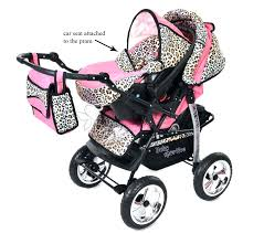 infant car seat and stroller combo uflage affordable realtree seats girl pink baby
