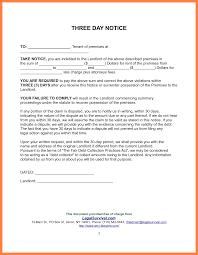 landlord 30 day notice letter 30 day notice to landlord template 493221 png