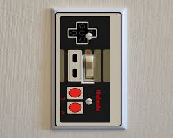 Decorative Light Switch Plates Nintendo Controller Switch Plate Wall Plate Cover Video