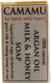 4 oz argan oil milk honey soap by camamu soap wild mounn paleo market