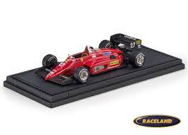 Ferrari 156/85 F1 Scuderia Ferrari 1985 Michele Alboreto - scale 1/43rd 1985-1989  FORMULA 1 MOTORSPORTS