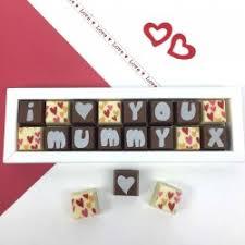 personalised chocolates for mum mom or maman
