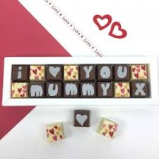 personalised chocolates for mum mom or maman