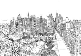 Disegni Da Colorare Per Adulti New York