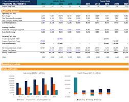 Free Financial Model Template Download 3 Statement Model Xls