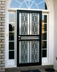 security storm doors with screens. Steel Security Storm Doors By HomeGuard (R) With Screens