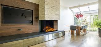 Electric Fireplace Modern Design E32 H By Electric Modern 3 Sided Built In Electric Fireplace