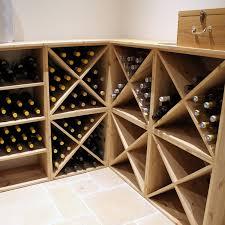 wine rack. Pine Wooden Wine Rack - Cellar Cube 96 Bottles 298mm Deep Set Of