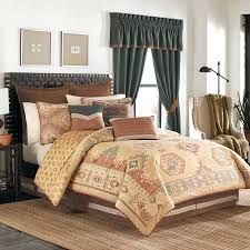 southwestern comforter sets king rustic bedding lodge log cabin 0 toys r us set toddler